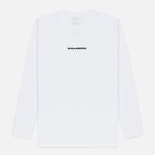 Мужской лонгслив maharishi Organic Military Type Embroidery White фото- 0