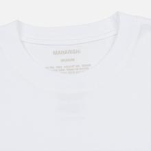 Мужской лонгслив maharishi Organic Military Type Embroidery White фото- 1