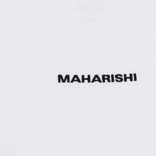 Мужской лонгслив maharishi Organic Military Type Embroidery White фото- 2