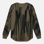 Мужской лонгслив maharishi Reversible Camo LS Jungle Camouflage фото- 0
