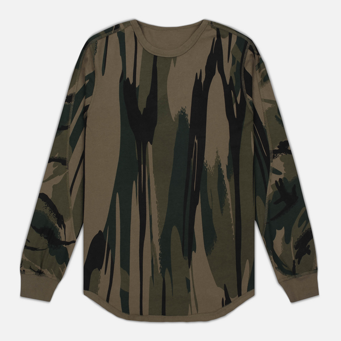 Мужской лонгслив maharishi Reversible Camo LS Jungle Camouflage