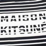 Мужской лонгслив Maison Kitsune Marin Black Ecru фото- 2