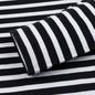 Мужской лонгслив Maison Kitsune Marin Tricolor Fox Patch Black/White фото - 3