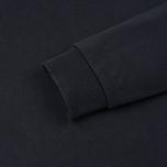 Мужской лонгслив Maison Kitsune Tricolor Fox Black фото- 3