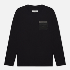 Мужской лонгслив Maison Margiela Stereotype Patch Black