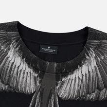Мужской лонгслив Marcelo Burlon Black Wings Black/Black фото- 1