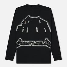 Мужской лонгслив Marcelo Burlon Ghost House Over Black/Beige фото- 1