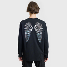 Мужской лонгслив Marcelo Burlon Heart Wings Black/White фото- 3
