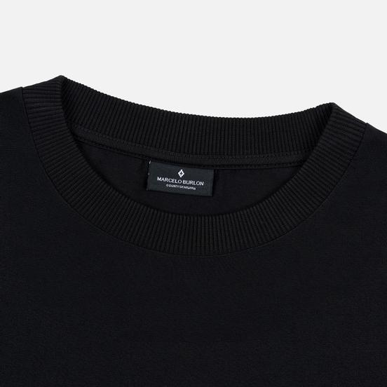 Мужской лонгслив Marcelo Burlon Logo Black/White