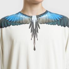 Мужской лонгслив Marcelo Burlon Turquoise Wings Beige/Multicolor фото- 2