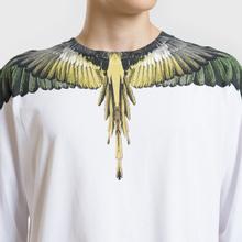 Мужской лонгслив Marcelo Burlon Yellow Wings White/Multicolor фото- 2