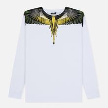 Мужской лонгслив Marcelo Burlon Yellow Wings White/Multicolor фото- 0