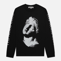 Мужской лонгслив McQ Alexander McQueen Crew Neck The Noise Club Darkest Black