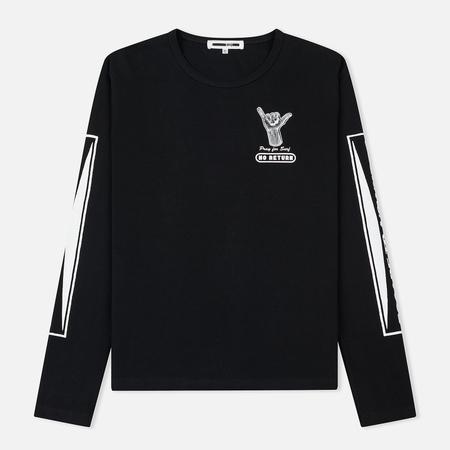 Мужской лонгслив McQ Alexander McQueen Kid Sponsorship Darkest Black