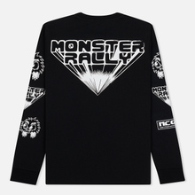 Мужской лонгслив McQ Alexander McQueen Monster Rally Crew Neck Darkest Black фото- 1