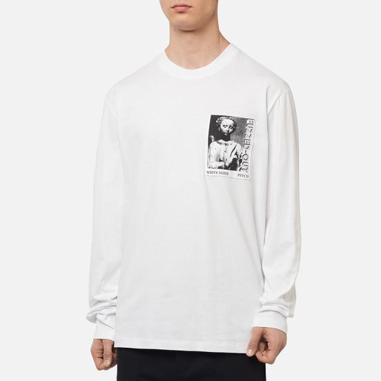 Мужской лонгслив McQ Alexander McQueen Superbig Frentic Optic White