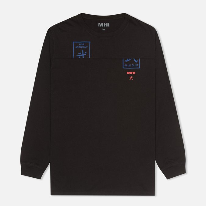 Мужской лонгслив MHI By Maharishi Club Print Black
