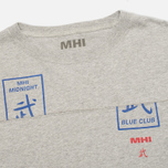 MHI By Maharishi Club Print Men's Longsleeve Grey Marl photo- 1