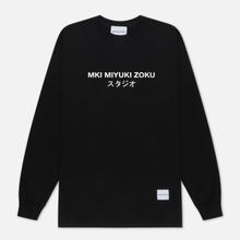 Мужской лонгслив MKI Miyuki-Zoku Classic Logo Long Sleeve Black фото- 0