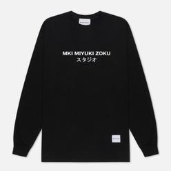 Мужской лонгслив MKI Miyuki-Zoku Classic Logo Long Sleeve Black
