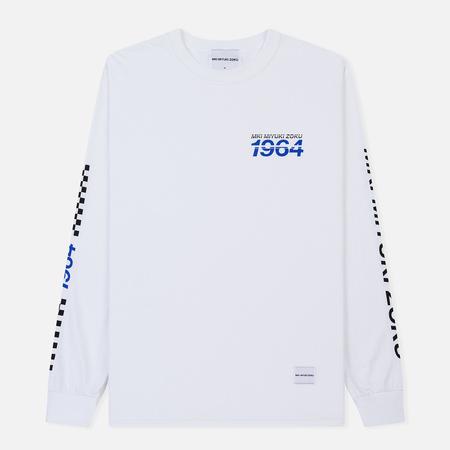 Мужской лонгслив MKI Miyuki-Zoku Racing White