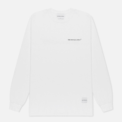 Мужской лонгслив MKI Miyuki-Zoku Registered Logo White