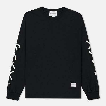 Мужской лонгслив MKI Miyuki-Zoku Symbol Arm Long Sleeve Black