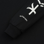 Мужской лонгслив MKI Miyuki-Zoku Symbol Arm Long Sleeve Black фото- 2