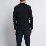 Мужской лонгслив MKI Miyuki-Zoku Symbol Arm Long Sleeve Black фото- 5