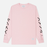 Мужской лонгслив MKI Miyuki-Zoku Symbol Arm Long Sleeve Pink фото- 0