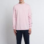 Мужской лонгслив MKI Miyuki-Zoku Symbol Arm Long Sleeve Pink фото- 4