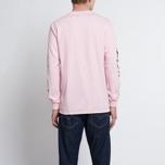 Мужской лонгслив MKI Miyuki-Zoku Symbol Arm Long Sleeve Pink фото- 5