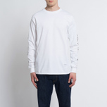 Мужской лонгслив MKI Miyuki-Zoku Symbol Arm Long Sleeve White фото- 4