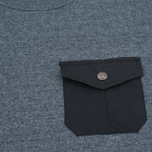 Мужской лонгслив Mt. Rainier Design Heather Pocket Black фото- 2