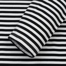 Мужской лонгслив Nanamica Coolmax St. Jersey Black/White фото- 2