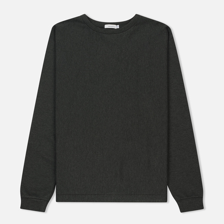 Мужской лонгслив Nanamica Functional Crew Neck Charcoal