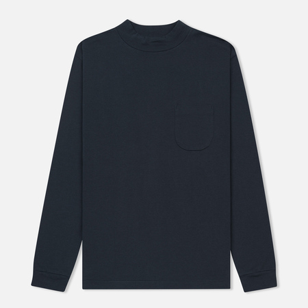 Мужской лонгслив Nanamica High Neck Dark Navy
