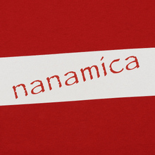 Мужской лонгслив Nanamica Nanamican Graphic Red фото- 2