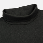 Мужской лонгслив Nanamica Turtle Neck Charcoal фото- 1
