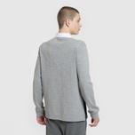 Мужской лонгслив Napapijri Emei Multicolour Black/Grey/White фото- 2