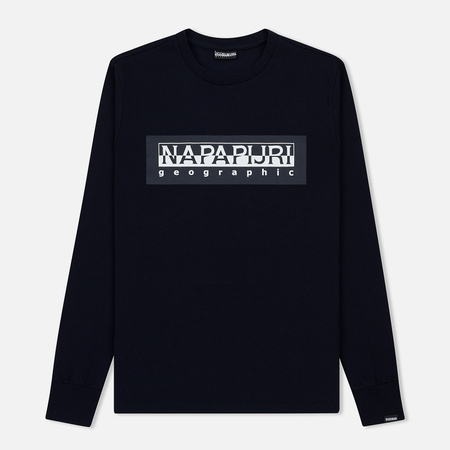 Мужской лонгслив Napapijri Sele Blue Marine