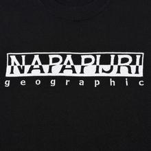 Мужской лонгслив Napapijri Serber Black фото- 2