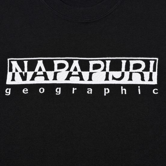 Мужской лонгслив Napapijri Serber Black