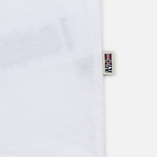 Мужской лонгслив Napapijri Sibu Bright White