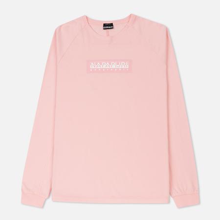 Мужской лонгслив Napapijri Simmy The Tribe Selection Light Pink
