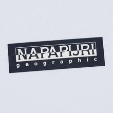 Мужской лонгслив Napapijri Sox Bright White фото- 2