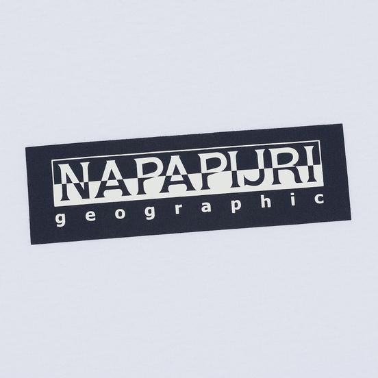 Мужской лонгслив Napapijri Sox Bright White