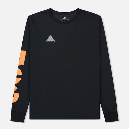 Мужской лонгслив Nike ACG 2 Cultur Black/Bright Mandarin