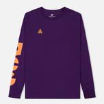 Мужской лонгслив Nike ACG 2 Cultur Night Purple/Bright Mandarin фото- 0