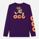 Мужской лонгслив Nike ACG 2 Cultur Night Purple/Bright Mandarin фото- 4